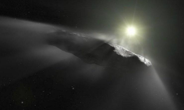 Científicos descubren una posible nave alienígena
