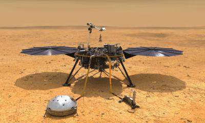 llegada de misión InSight a Marte