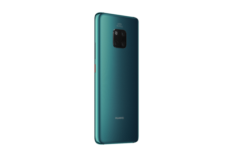 Huawei Mate 20 Pro llegó a México: un teléfono con inteligencia superior Green_Rear-30_Left