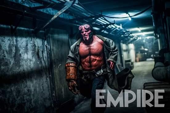 El reboot de 'Hellboy' muestra su primera caracterización Hellboy-Empire