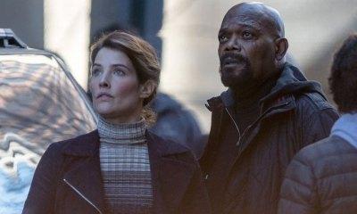 Nick Fury y Maria Hill antes de 'Infinity War'