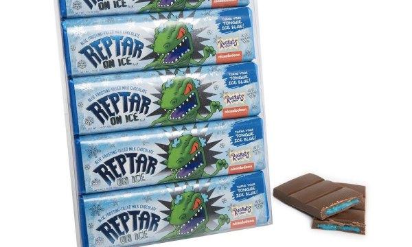 Tu niño interno estará feliz con las barras de chocolate de 'Reptar' Reptar-03-600x360