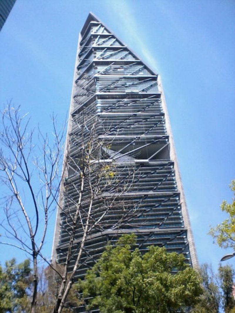 El mejor rascacielos del mundo está en México Torre_Reforma_2016-1