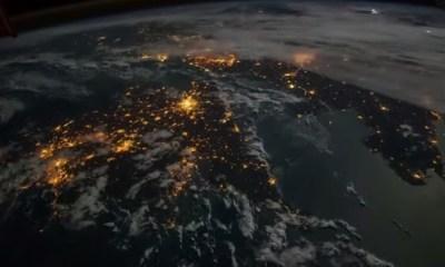 Video en 'time-lapse' de la Tierra
