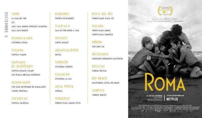 Nuevas salas de cine donde pueden ver 'Roma' de Alfonso Cuarón WhatsApp-Image-2018-11-21-at-20.30.41