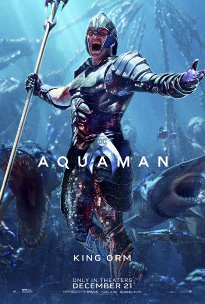 Llegan desde el mar los nuevos pósters de 'Aquaman' aqamn_vert_kingorm_dom_2764x4096_master