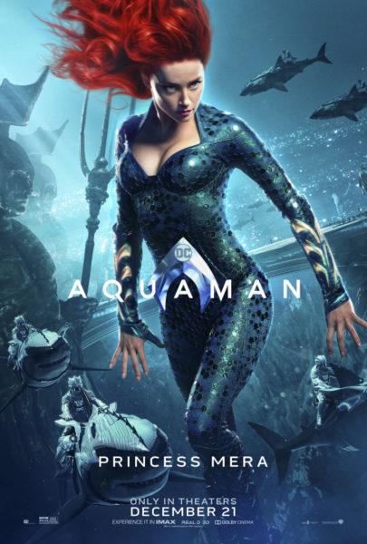 Llegan desde el mar los nuevos pósters de 'Aquaman' aqamn_vert_princessmera_dom_2764x4096_master-1