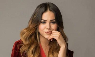 Danna Paola copia look a Belinda
