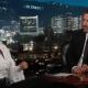Eiza González con Jimmy Kimmel