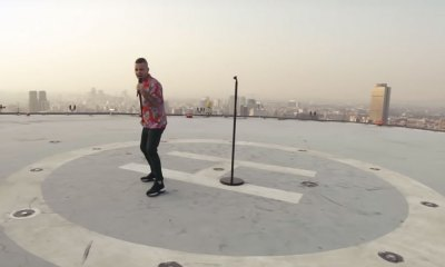 video que Robbie Williams grabó en la CDMX