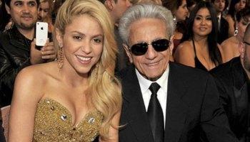 Shakira cantó con su papá