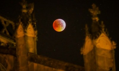 Fotos del eclipse total de luna