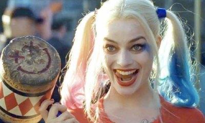 Margot Robbie entrena como Harley Quinn