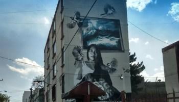 Mural de Yalitza Aparicio
