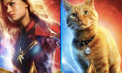 pósters individuales de 'Captain Marvel'