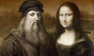 huella dactilar de Leonardo Da Vinci