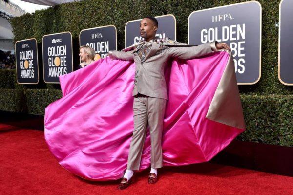 Billy Porter rompió esquemas en los Oscar, ¿por qué? Billy-Porter-Golden-Globes-600x399