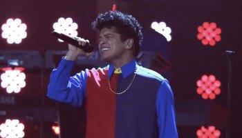 Bruno Mars ofreció un concierto previo al Superbowl