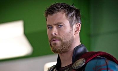 Chris Hemsworth lució como un personaje de 'The Simpsons'