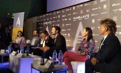 Diego Luna presentó 'Ambulante'