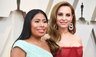 vestidos de Yalitza Aparicio y Marina de Tavira en los Oscar 2019