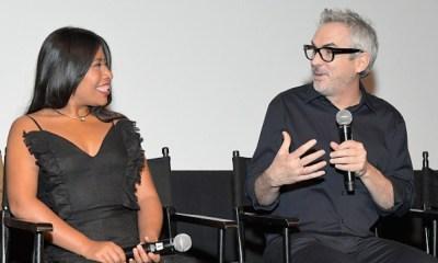 Parodia de Yalitza Aparicio y Alfonso Cuarón