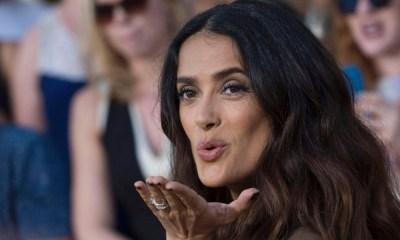 Salma Hayek' desmiente su divorcio (1)
