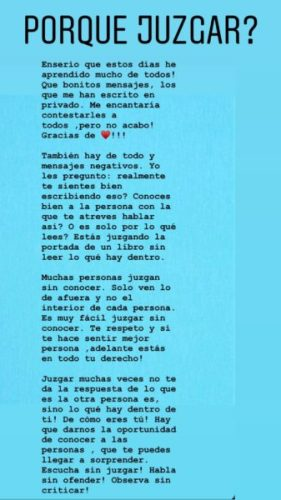 Novia de EPN respondió a las críticas que ha recibido Tania-Ruiz-IG-Storie-02-281x500