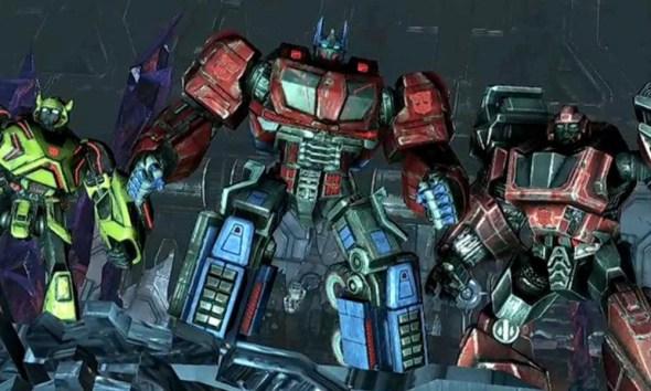 serie de los 'Transformers'