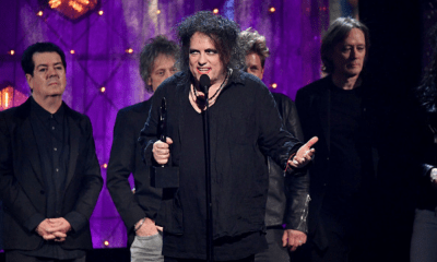 'The Cure' ingresó al Salón de la Fama del Rock
