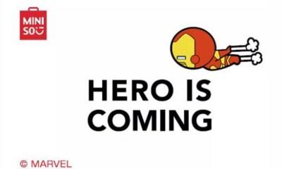 Marvel se asoció con Miniso
