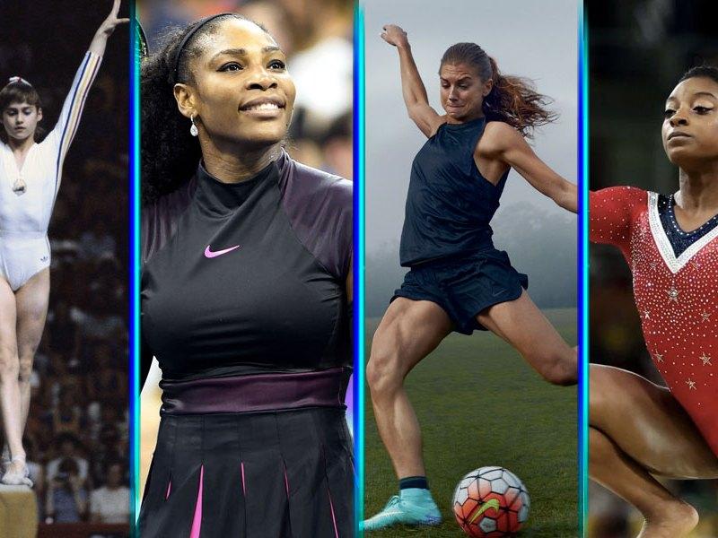 mujeres en el deporte