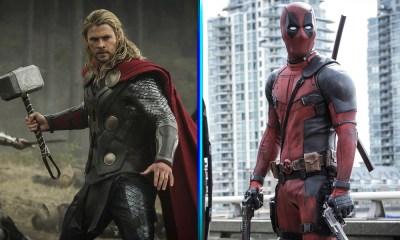 'Thor' le dio la bienvenida a 'Deadpool'