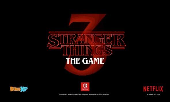 Videojuego de 'Stranger Things 3'