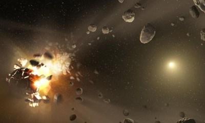 destruir un asteroide