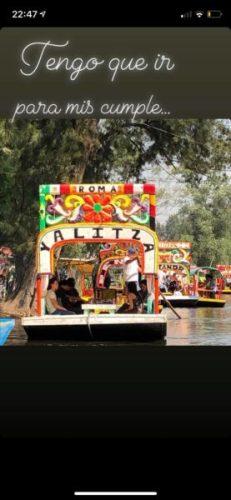 En Xochimilco ya hay una trajinera con el nombre de Yalitza Aparicio 56915809_2584263118270028_4412655292605530112_n-231x500