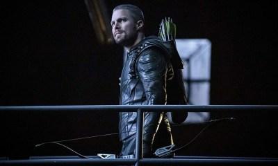 rodaje de la séptima temporada de 'Arrow'