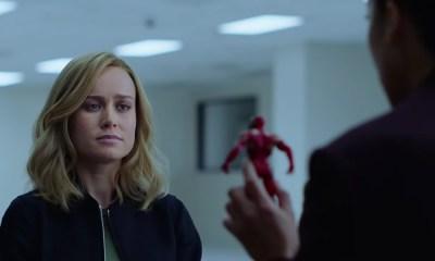 Cómo Captain Marvel se entera del chasquido de Thanos