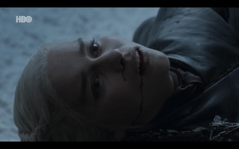 """Sexto capítulo de la última temporada de 'Game of Thrones': """"The Iron Throne"""" Dany-muerta"""