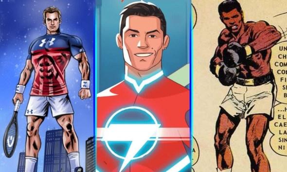 deportistas que alguna vez fueron superhéroes