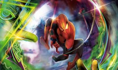 Enfrentamiento entre 'Spider Man' y 'Mysterio'