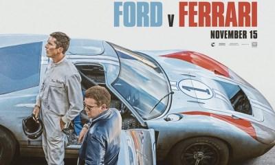 Primer póster de 'Ford v Ferrari'
