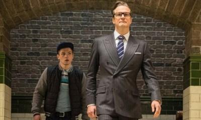 Harry y Eggsy se despiden en 'Kingsman 3'