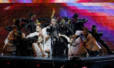 Madonna en la final de Eurovisión