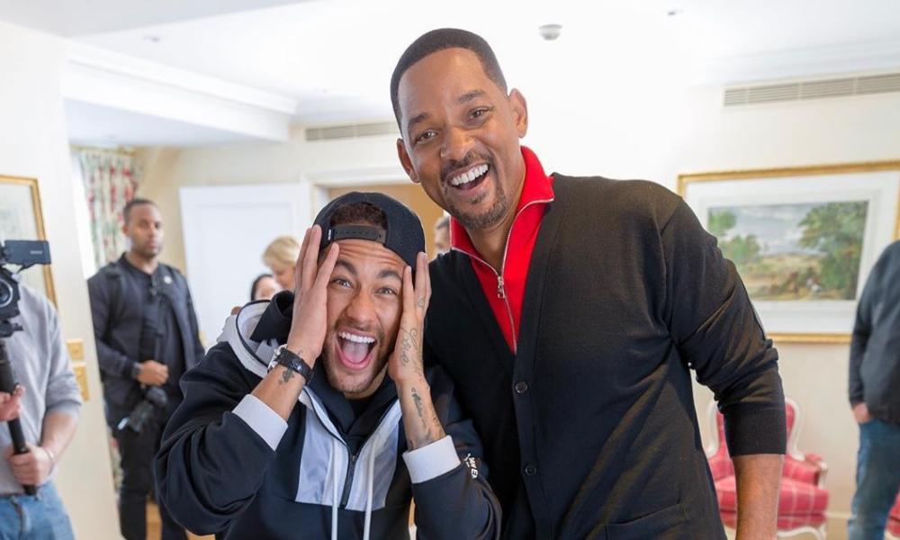 Neymar y Will Smith se conocen