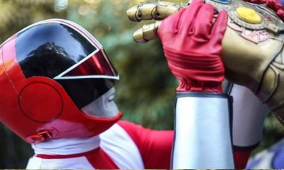 'Power Rangers' y 'Avengers'