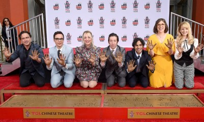 'The Big Bang Theory' dejó sus huellas