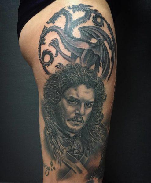 Estos son los tatuajes de 'Game of Thrones' que se hacen los fans Yarda_DeepInk-5877998110dfd-tattoo