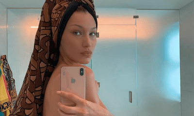 Bella Hadid subió un video sensual