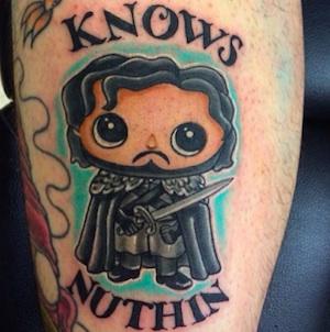 Estos son los tatuajes de 'Game of Thrones' que se hacen los fans game-of-thrones